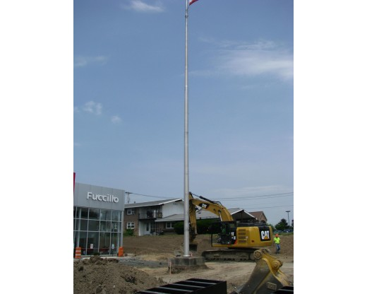 Commercial Aluminum In-ground flag pole
