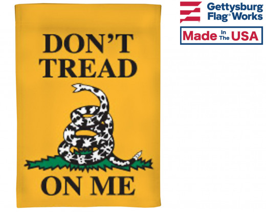 Don't Tread On Me Garden Flag