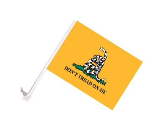 Gadsden Car Window Flag
