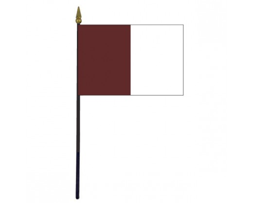 Galway County Stick Flag (Ireland) - 4x6""
