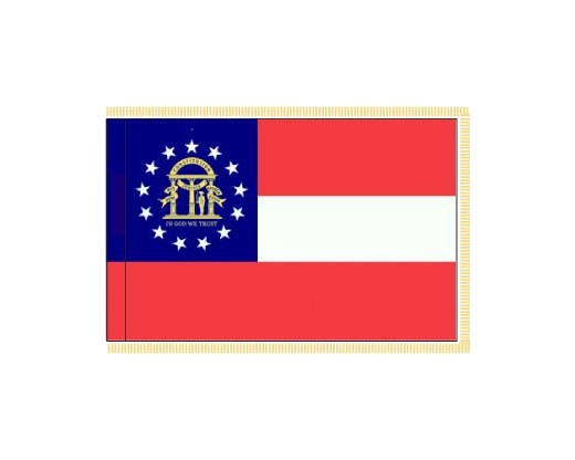 Georgia Flag - Indoor