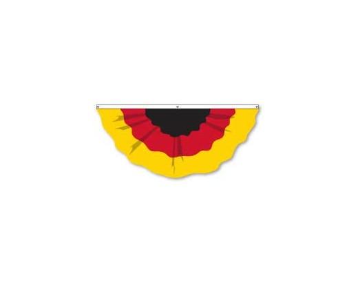 Germany Pleated Fan, 6', Nylon