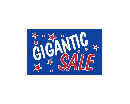 Gigantic Sale Banner