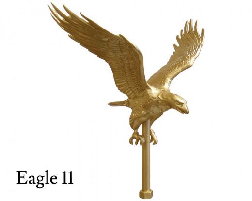 Flying Eagle 11, Gold Aluminum