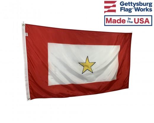 Service Star Flag (1 Gold Star) - 3x5'