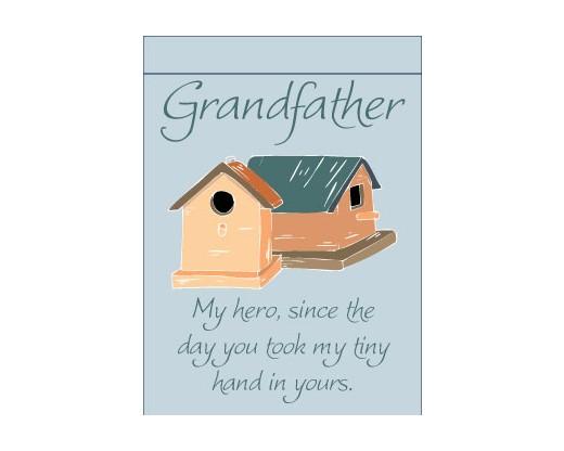 Grandfather, My Hero Garden Flag