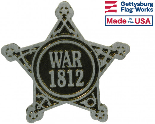 War of 1812 Aluminum Grave Marker