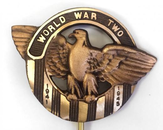 WWII Grave Marker Bronze