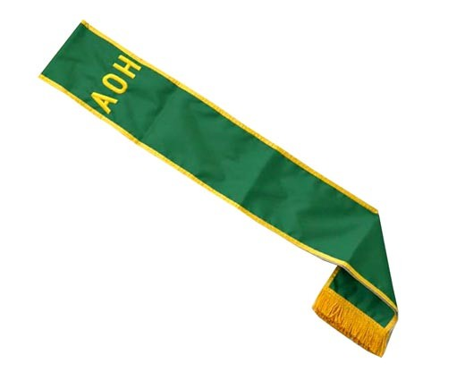 AOH Green Parade Sash