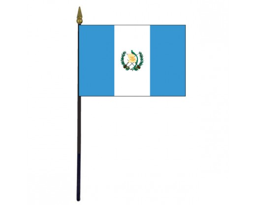 Guatemala Stick Flag - 4x6""
