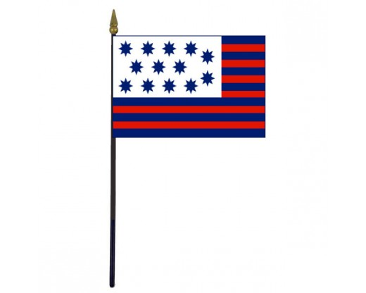 Guilford Courthouse Stick Flag - 4x6""