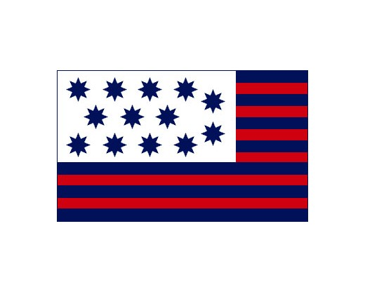 Guilford Courthouse Flag - 3x5'