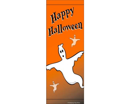 Halloween Ghost Avenue Banner