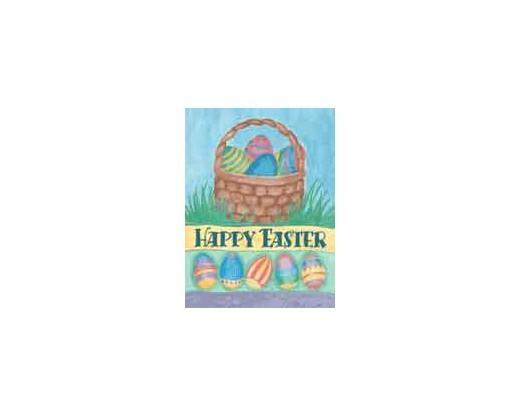 Happy Easter Basket House Banner