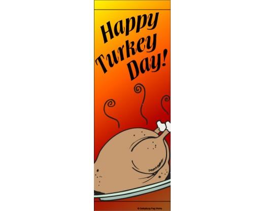Happy Turkey Day Avenue Banner