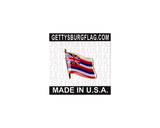 Hawaii State Flag Lapel Pin