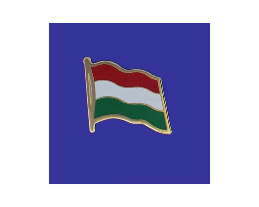 Hungary Lapel Pin (Single Waving Flag)