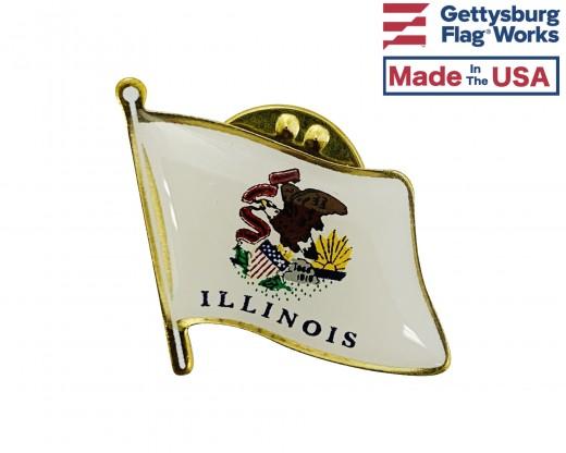 Illinois Lapel Pin