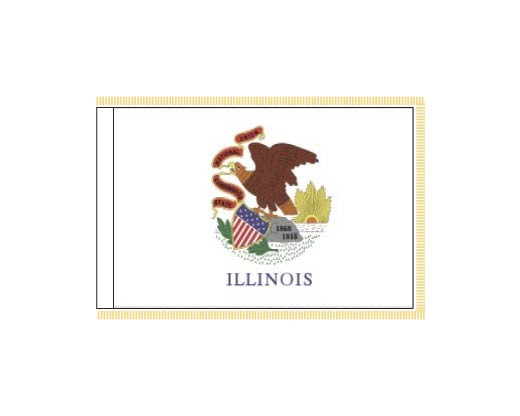 Illinois Flag - Indoor