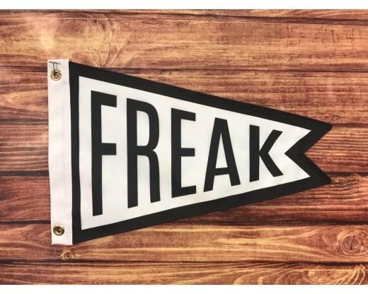 Freak Flag black and white front