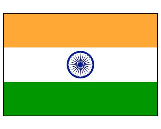 India Country Flag: Indoor And Outdoor