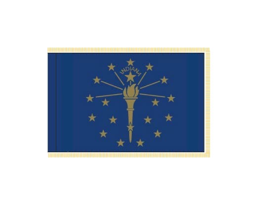Indiana Flag - Indoor