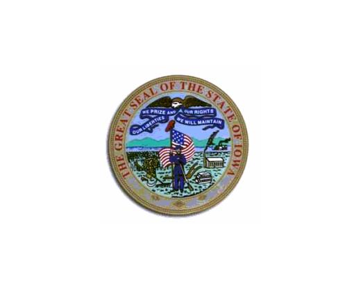 Iowa Seal Sticker