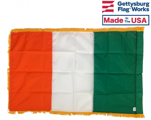 Back of Ireland Parade Flag