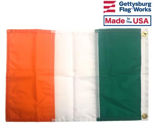 Back of Nylon Ireland Flag