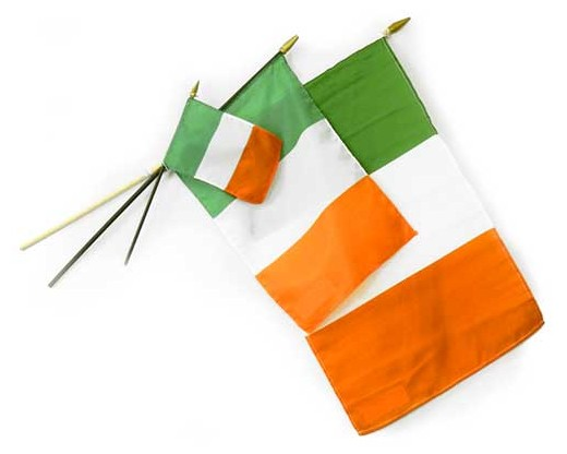 Ireland Stick Flag - 8x12""