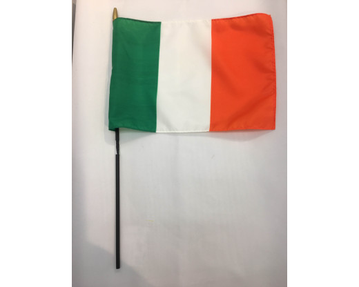 Ireland Stick Flag-12x18
