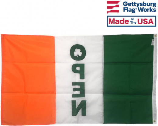 Back of Irish Open Flag