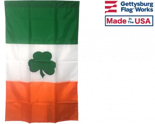 Irish Shamrock Banner