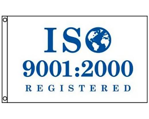 ISO 9001:2000 White Flag