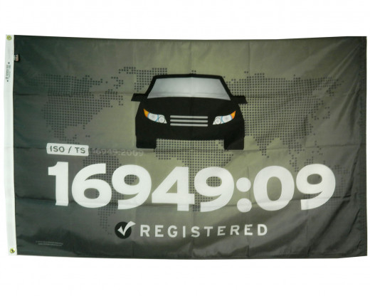 TS 16949:2009 Flag Photo