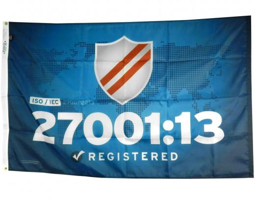 ISO 27001:13 Flag