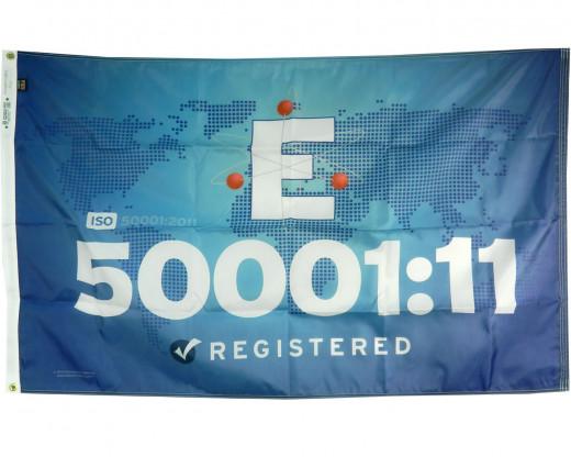 ISO 50001:11 E Flag
