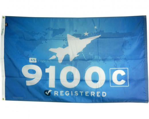 AS 9100 Flag Photo