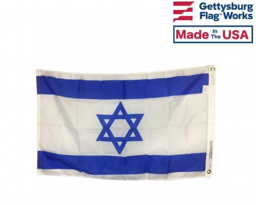 ISRAEL FLAG BACK