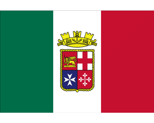 Italian Ensign Flag