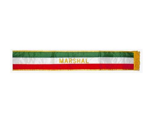 Italian Parade Sash