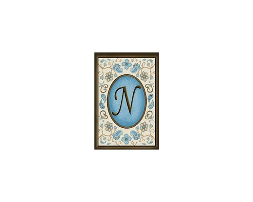 "Chocolate Elegance ""N"" Garden Flag"