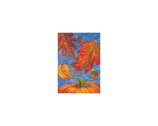 Fall Pumpkin Garden Flag