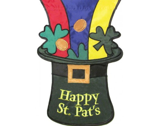 St Pat's Hat House Banner