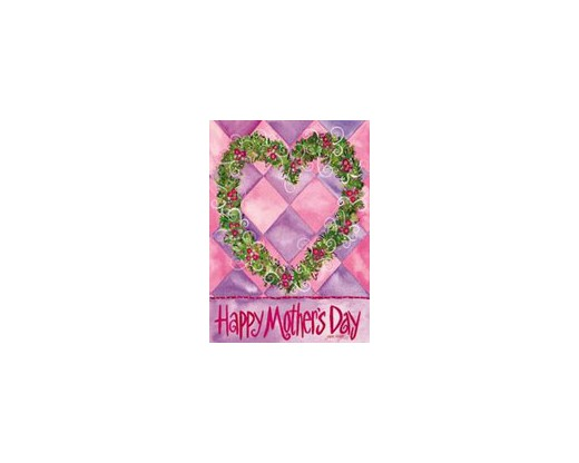 Mother's Day Wreath House Banner