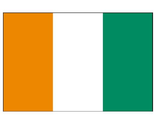 Ivory Coast (Cote D'Ivoire) Flag