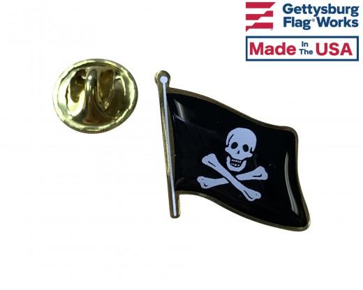 Jolly Roger Lapel Pin