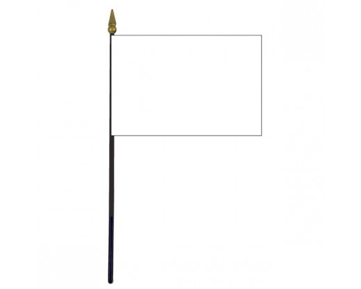 Kildare County Stick Flag (Ireland) - 4x6""