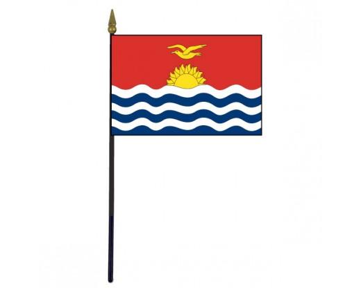 "Kiribati Stick Flag - 4x6"""