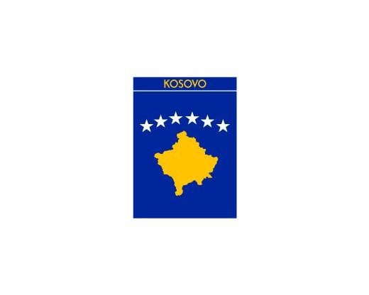 Kosovo Garden Flag